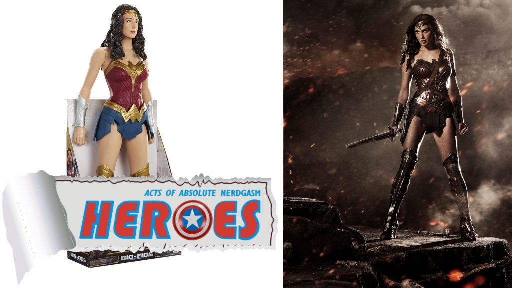 Jakks: Batman v Superman BIG-FIGS Wonder Woman 48cm Figure (English Subs) – Heroes For A Day