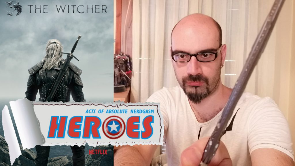 The Witcher (Netflix Series) – Trailer Reaction (English Subs) – Heroes For A Day