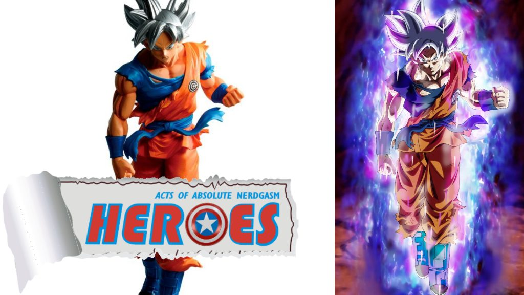 Bandai: Dragon Ball Heroes Masterlise Son Goku Ultra Instinct (English Subs) – Heroes For A Day