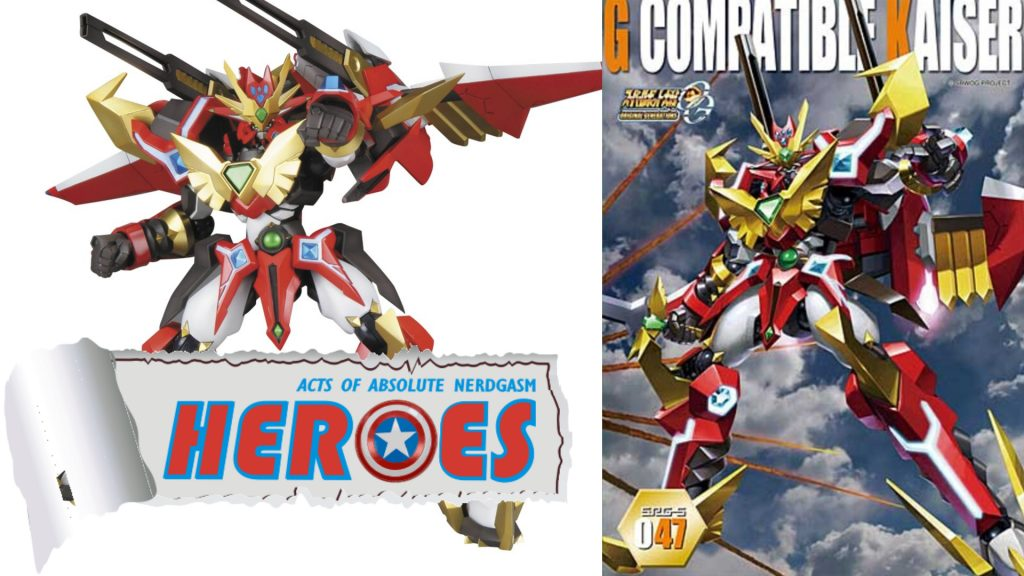 Kotobukiya: Super Robot Wars OG SRG-5 047 G Compatible Kaiser (English Subs) – Heroes For A Day