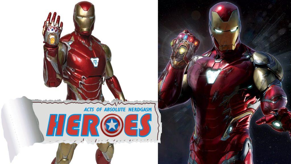Diamond Select: Avengers: Endgame Iron Man Mark 85 (English Subs) – Heroes For A Day