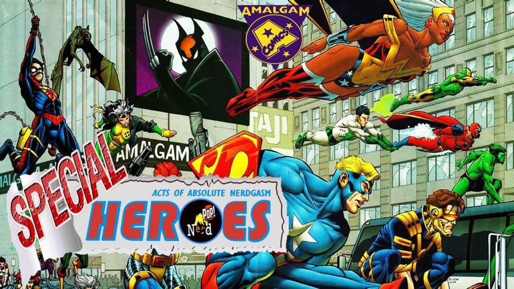 Top10 Οι Καλύτεροι Ήρωες της Amalgam Comics Μέρος 1ο (Αγγλικοί Υπότ.) – Heroes For A Day Special #10